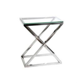 Table d'appoint CRISS CROSS HIGH de EICHHOLTZ