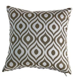 COUSSIN DECO 50 X 50 CM - PINAMAR TAUPE